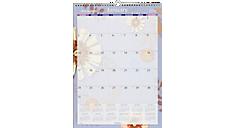 2016 Paper Flowers Wall Calendar (PF2_16) (Item # PF2_16)