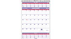 Plan-A-Month 3-Month Wall Calendar (PM10) (Item # PM10)