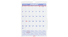 2016 Recycled Monthly Wall Calendar (PM1_16) (Item # PM1_16)