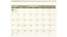 2016 Recycled Monthly Desk/Wall Calendar (PM170G_16) (Item # PM170G_16)
