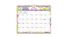 2015-2016 Good Vibrations Academic Wall Calendar (PM20-707A_A5) (Item # PM20-707A_A5)