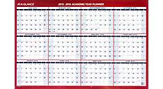 2016 2-Sided Horizontal Erasable Wall Calendar (PM200S_16) (Item # PM200S_16)