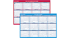 2017 2-Sided Horizontal Erasable Wall Calendar (PM200S_17) (Item # PM200S_17)