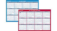 2-Sided Horizontal Erasable Wall Calendar (PM200S) (Item # PM200S)
