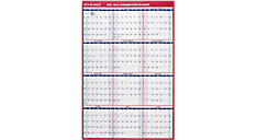 2016 2-Sided Vertical Erasable Wall Calendar (PM210S_16) (Item # PM210S_16)