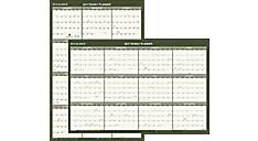 2017 Recycled Vertical/Horizontal Wall Calendar (PM212G_17) (Item # PM212G_17)