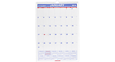 2016 Recycled Monthly Wall Calendar (PM2_16) (Item # PM2_16)