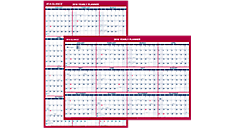 2016 2-Sided Erasable Wall Calendar (PM26B_16) (Item # PM26B_16)