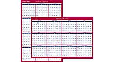 2016 2-Sided Erasable Wall Calendar (PM26B_16) (Item # PM26B_16)