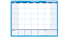 30/60-Day Undated Horizontal Erasable Wall Calendar (PM273B) (Item # PM273B)