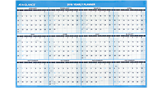 2016 XL Horizontal Erasable Wall Calendar (PM300_16) (Item # PM300_16)