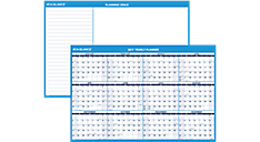 2017 XL Horizontal Erasable Wall Calendar (PM300_17) (Item # PM300_17)