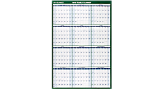2016 XL Vertical Erasable Wall Calendar (PM310_16) (Item # PM310_16)