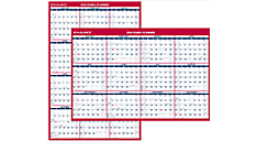 2016 XL 2-Sided Erasable Wall Calendar (PM326_16) (Item # PM326_16)
