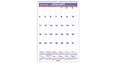 2016 Recycled Monthly Wall Calendar (PM3_16) (Item # PM3_16)