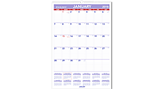 Monthly Wall Calendar (PM3) (Item # PM3)