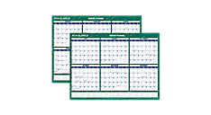 2015-2016 Compact Academic Erasable Wall Calendar (PM332A_16) (Item # PM332A_16)