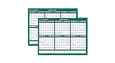 2015-2016 Compact Academic Erasable Wall Calendar (PM332A_16) (Item # PM332A_16)