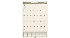 2016 Recycled Monthly Wall Calendar (PM3G_16) (Item # PM3G_16)