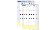 2017 QuickNotes Monthly Wall Calendar (PM54_17) (Item # PM54_17)
