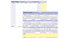 2017 QuickNotes® Compact Erasable Wall Calendar (PM550B_17) (Item # PM550B_17)