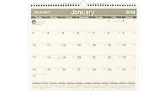 2016 Recycled Monthly Wall Calendar (PMG77_16) (Item # PMG77_16)