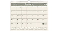 Recycled Monthly Wall Calendar (PMG77) (Item # PMG77)