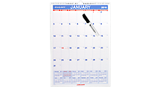 2016 Laminated Monthly Wall Calendar (PMLM02_16) (Item # PMLM02_16)