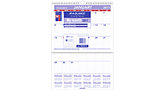 2017 Laminated Plan-A-Month Wall Calendar (PMLM02_17) (Item # PMLM02_17)