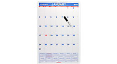 2016 Laminated Monthly Wall Calendar (PMLM03_16) (Item # PMLM03_16)