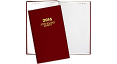 Standard Diary® 2016 Recycled Daily Diary (SD381_16) (Item # SD381_16)