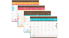 2017 Suzani Monthly Desk Pad (SK17-704_17) (Item # SK17-704_17)
