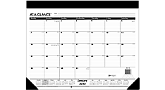 Refillable Monthly Desk Pad (SK22) (Item # SK22)