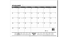 2017 Monthly Desk Pad Refill for SK22 (SK2250_17) (Item # SK2250_17)