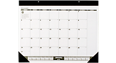 2016 Recycled Monthly Desk Pad (SK32G_16) (Item # SK32G_16)