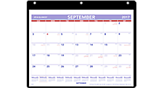 Academic Monthly Desk/Wall Calendar (SK7) (Item # SK7)