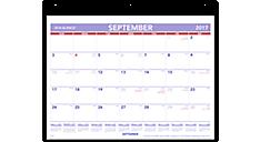Academic Plan-A-Month Wall Calendar (SK7) (Item # SK7)
