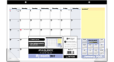 2017 QuickNotes® Compact Desk Pad (SK710_17) (Item # SK710_17)