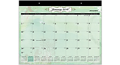 2016 Poetica Monthly Desk Pad (SK72-704_16) (Item # SK72-704_16)