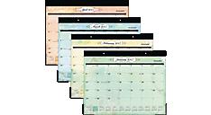 2017 Poetica Monthly Desk Pad (SK72-704_17) (Item # SK72-704_17)