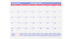 2016 Monthly Desk/Wall Calendar (SK8_16) (Item # SK8_16)