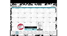 2017 Madrid Monthly Desk Pad (SK93-704_17) (Item # SK93-704_17)