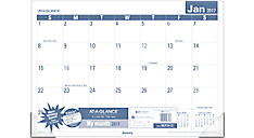 2017 Easy to Read Monthly Desk Pad (SKLP24_17) (Item # SKLP24_17)