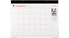 2016 Wounded Warrior Project® Monthly Desk Pad (SKW24_16) (Item # SKW24_16)