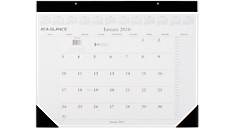 2016 Recycled Executive Desk Pad (SW201_16) (Item # SW201_16)