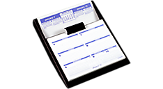 2016 Flip-A-Week®  Desk Calendar and Base (SW700X_16) (Item # SW700X_16)