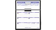 2017 Flip-A-Week Desk Calendar and Base (SW700X_17) (Item # SW700X_17)