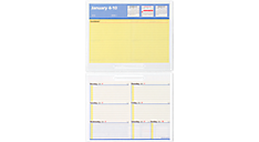 2016 Flip-A-Week® Weekly Refill with QuickNotes® Format (SW70650_16) (Item # SW70650_16)