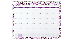2015 - 2016 Camille Academic Wall Calendar (W100-707A_16) (Item # W100-707A_16)