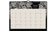 2016 Lacey Horizontal Monthly Wall Calendar (W141-170_16) (Item # W141-170_16)